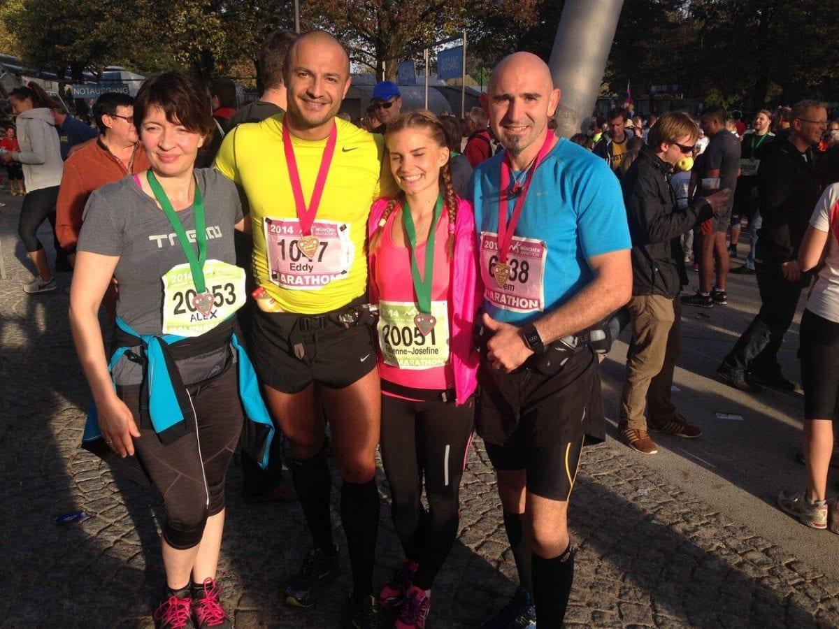Erfolgreicher Marathonlauf