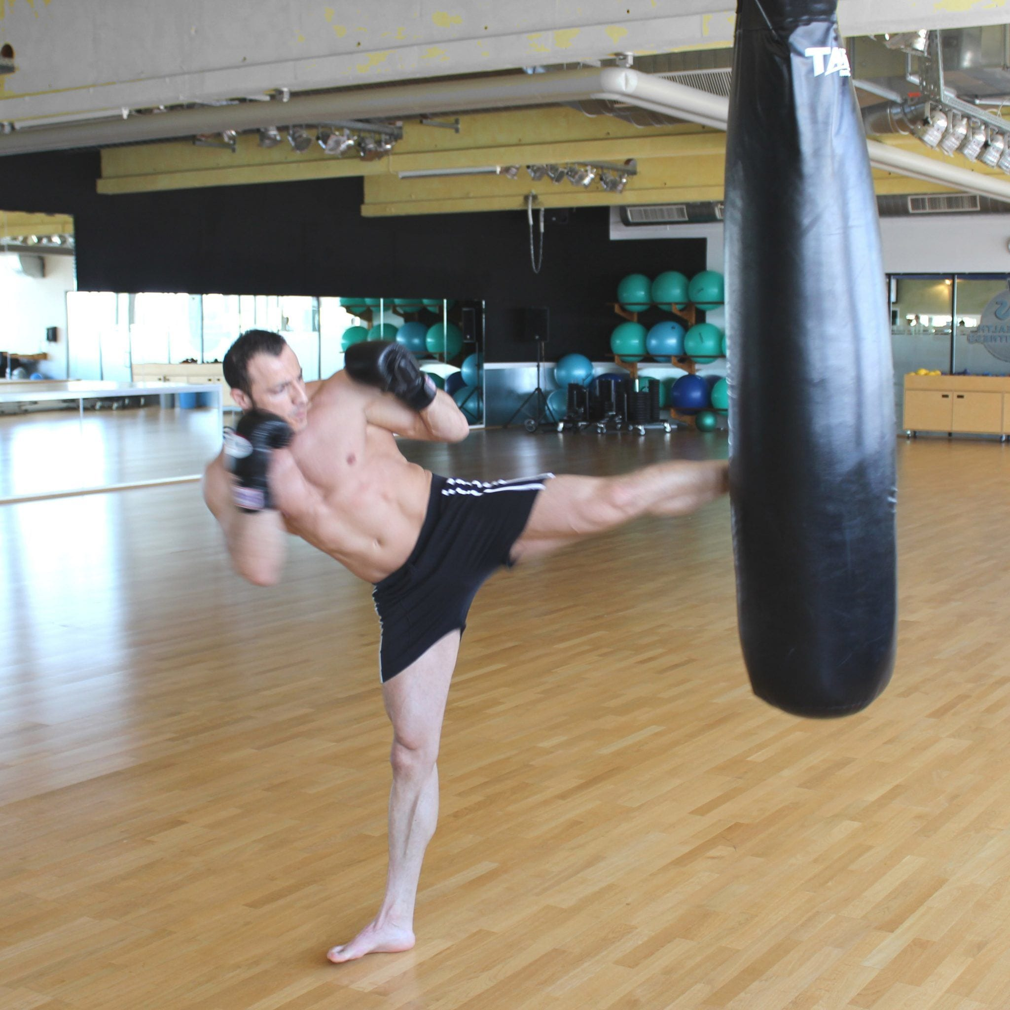 Boxen mit Personal Trainer Eddy