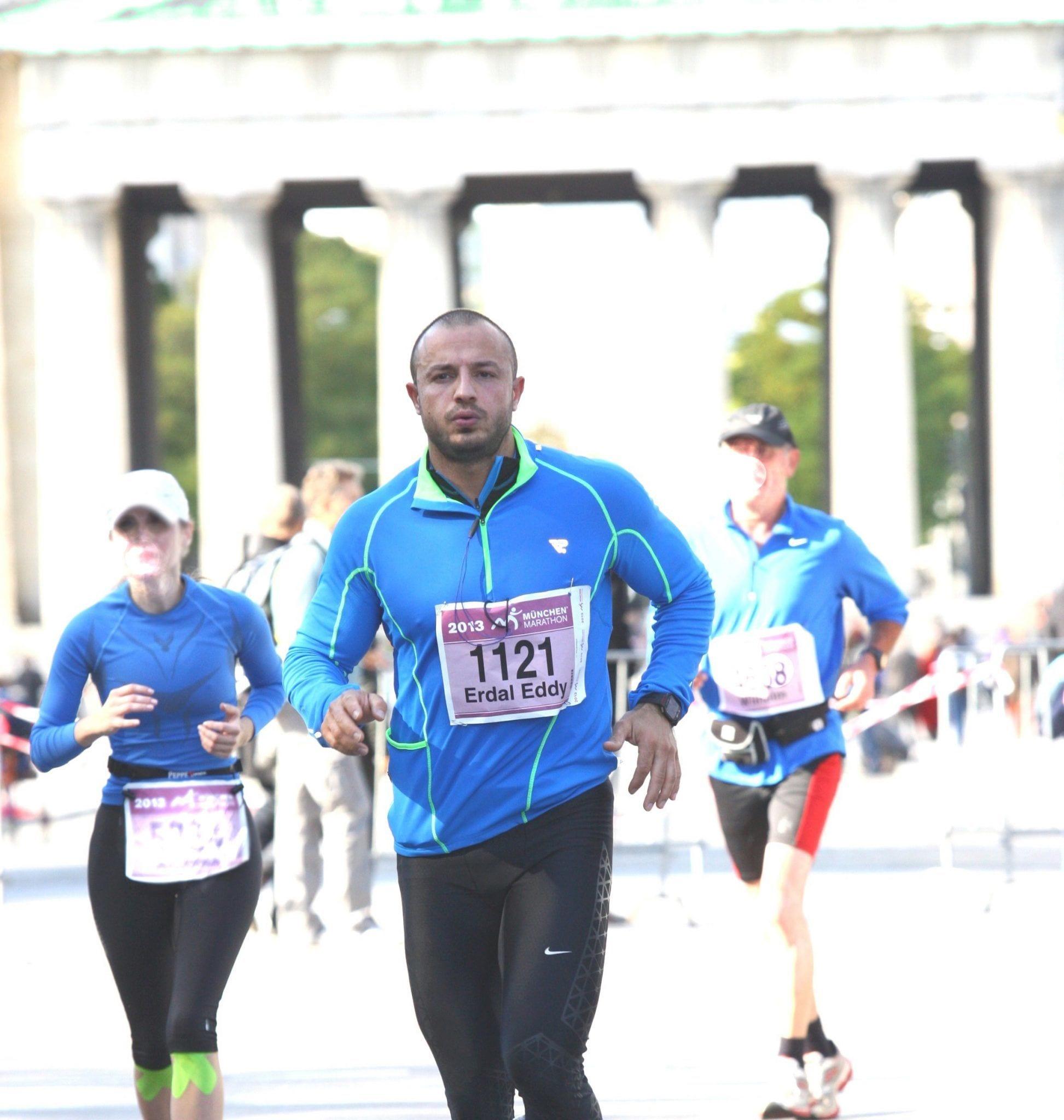 Marathonlauf mit Personaltrainer Eddy